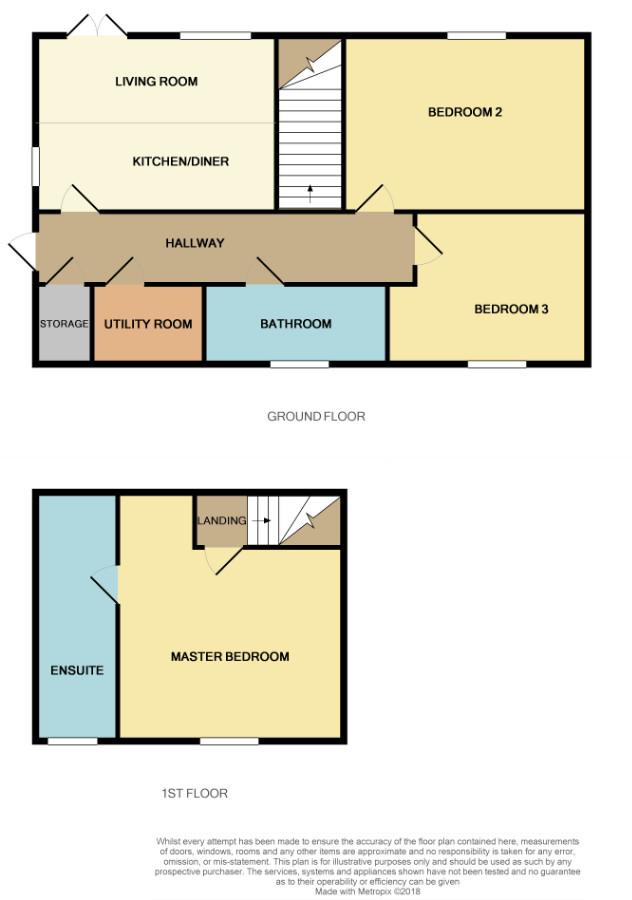 Floorplan for Jockey Lane, St George.