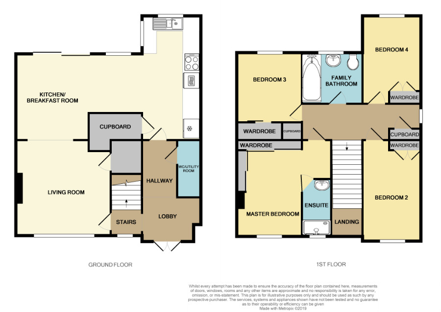 Floorplan for France Lane, Hawkesbury Upton.