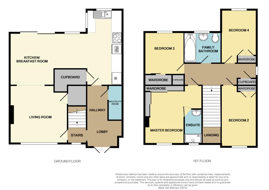 Floorplan for France Lane, Hawkesbury Upton.