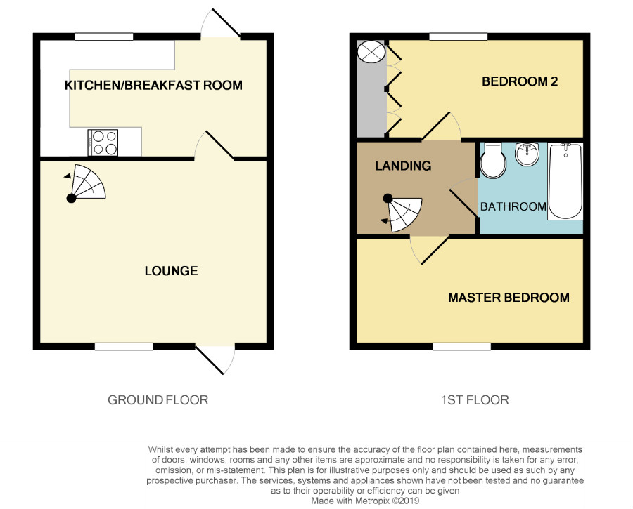 Floorplan for Yate, Bristol.
