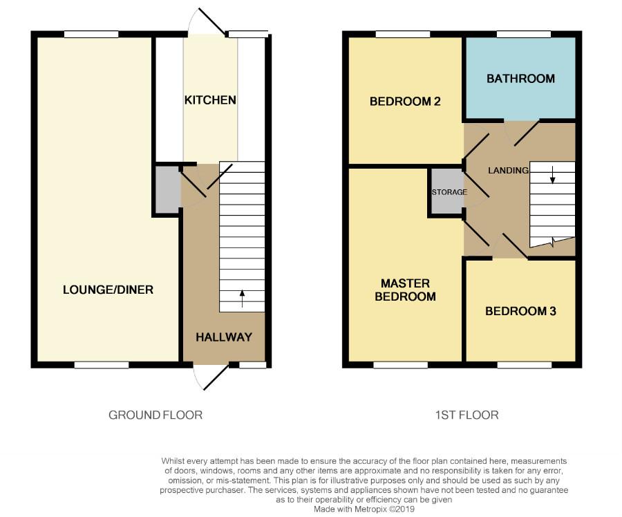 Floorplan for Edgeworth, Yate.