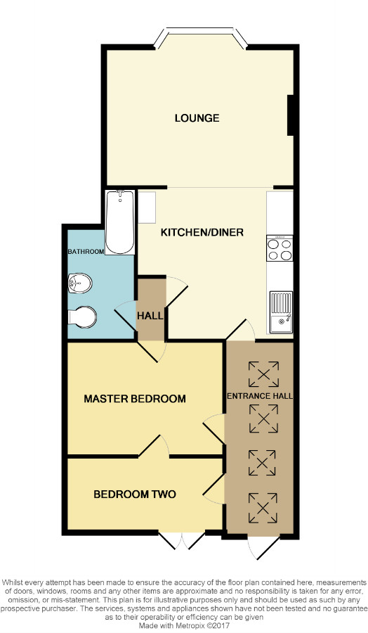 Floorplan for Ashley Down Road, Bristol.