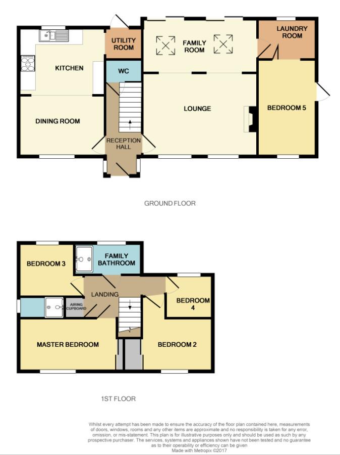 Floorplan for Sturmer Close, Yate.