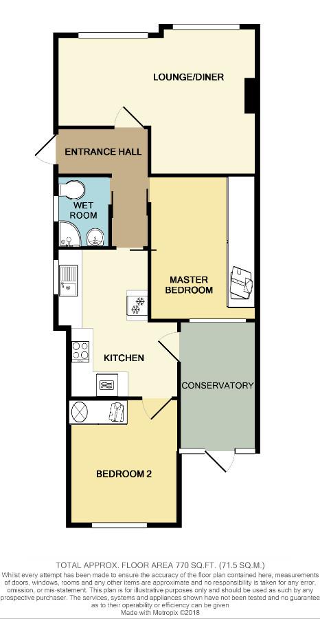 Floorplan for Moordell Close, Yate.