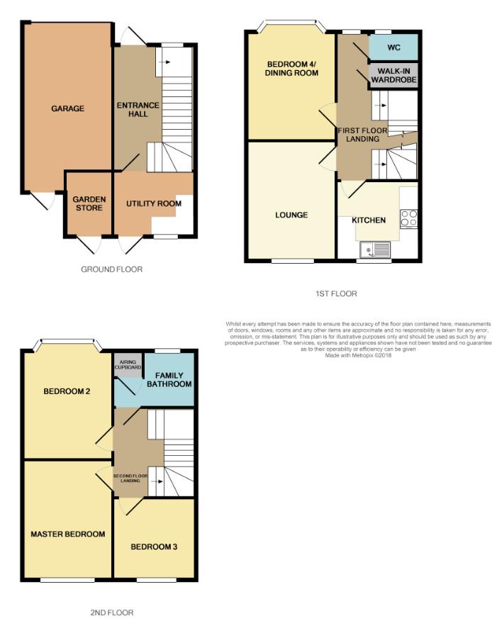 Floorplan for Blakeney Mills, Yate.
