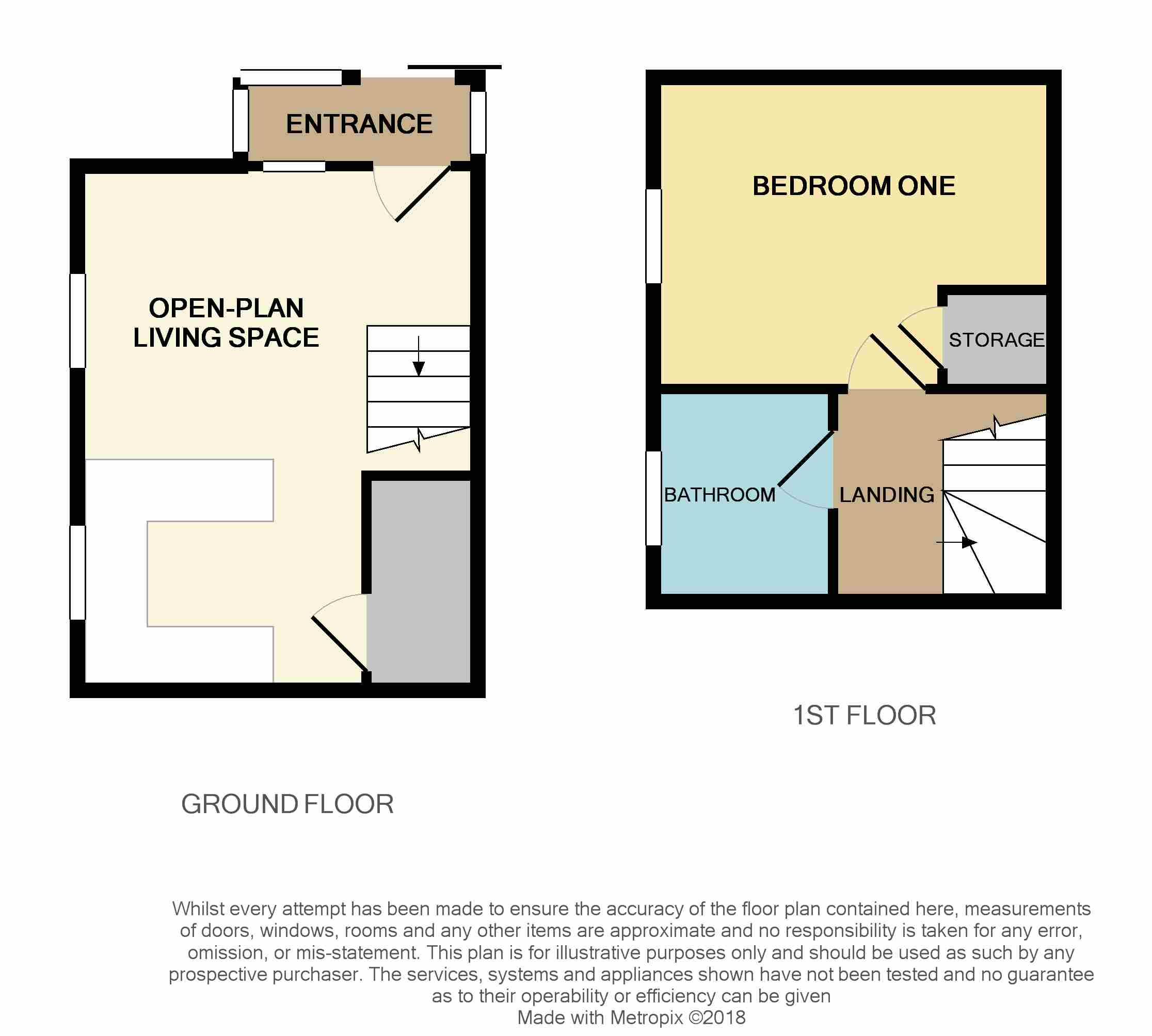 Floorplan for Bluebell Close, Thornbury.